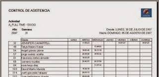 formato de asistencias formato registro de puntualidad y asistencia zona escolar 114