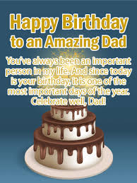 Celebrate Well Happy Birthday Card For Father Birthday Greeting