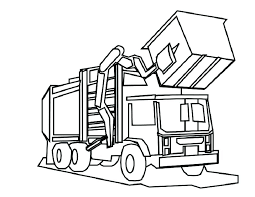 Collection Of Printable Dump Truck Coloring Pages Download Them