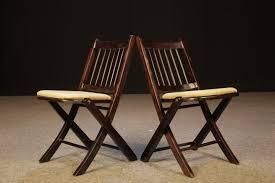 komforts vintage folding wooden chair