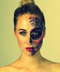 candy skull project on behance eliza design full make up portfolio