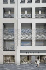 office facades. Office Facades. Stratford Place London Facade. Stone And Metalwork. Facades L C