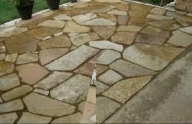 loose flagstone patio. Flagstone Patio Gravel Base Home Yard Looks Beautiful With Loose