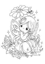 Small Picture precious moments fairy coloring page Precious moments