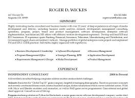 general resume general resume roger wickes creative software solutions