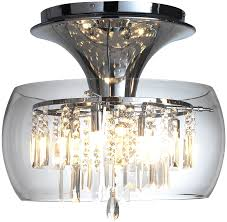modern ceiling lights uk with dar loco 6 light chrome and glass flush ing loc508 2 dl on 900x879 lighting 900x879px