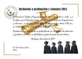 Invitacion De Graduacion Para Imprimir Zaxa Tk