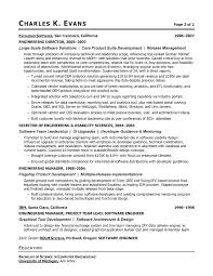 Computer Engineer Resume Objective Letter Resume Directory
