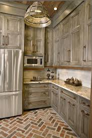 fresh decoration distressed kitchen cabinets flat for
