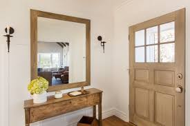 front door tableIredell St  Traditional  Entry  Los Angeles  by thea home inc