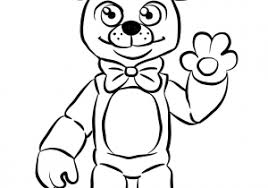 Cool Fnaf Freddy Five Nights At Freddys Free To Print Coloring Pages