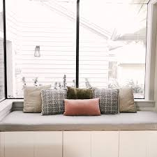 custom cushions bench cushions window