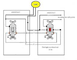wiring a lighted light switch wiring diagram sch