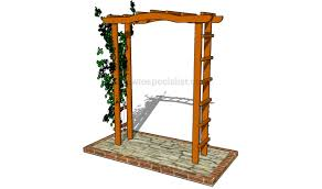 Small Picture How to build a garden arbor HowToSpecialist How to Build Step