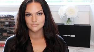 full face mac cosmetics makeup tutorial golden glow you
