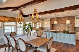dining kitchen pertaining to popular household chandelier over dining room table remodel