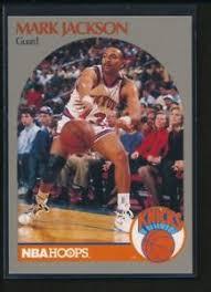 MARK JACKSON 1990-91 Hoops 100 Superstars Sears #66 NEW YORK KNICKS ULTRA  RARE | eBay