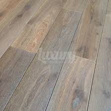 150mm smoked white washed brushed and oiled european solid oak wood flooring 20mm thick