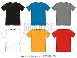 T Shirt Template New T Shirt Template V Vector Photo Free Trial Bigstock