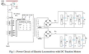 regeneration in electric locomotives dc traction motors a powercircuit