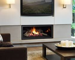 add a warm contemporary br gas fireplace