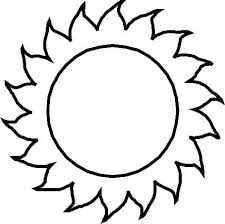 Sun Template Printable Sun Coloring