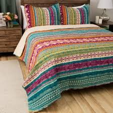 Teen Quilts For Less | Overstock.com & Greenland Home Fashions Southwest BoHo Cotton 3-piece Quilt Set Adamdwight.com