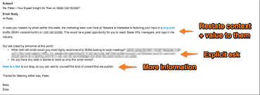 email followup 12 examples of a follow up email template to steal right now