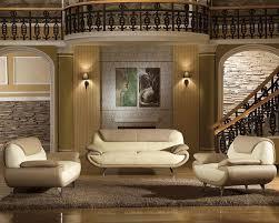 Modern Two Tone Bonded Leather Sofa Set L - All leather sofa sets