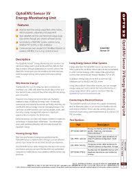 wireless energy monitoring opto com documents opto emu sen optoemu sensor 3v energy monitoring unit page 1 datasheet form1936 140808 optoemusensor3venergymonitoringunit opto 22