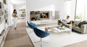 Simple And Modern Living Room Design For Young Family