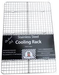 cookie sheet with cooling rack cooling rack baking rack stainless steel oven and dishwasher safe