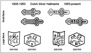 no prizes for guessing that delft jewelry falls in the small items the sword hallmark and the maker s mark can often be found on the c clasp of