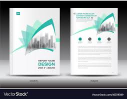 Annual Report Templates Free Download Annual Report Brochure Flyer Template Green Cover