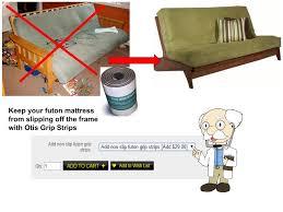 futon mattress sizes. Aspen Armless Full Size Futon Package W/ Pre-upholstered Innerspring  Mattress By Kodiak Futon Mattress Sizes