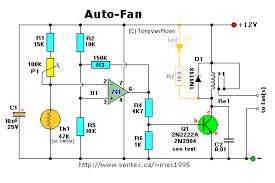 auto fan for automatic temperature control eletrônica auto fan for automatic temperature control