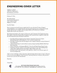 Component Engineer Cover Letter 7 Engineering Cover Letter Format