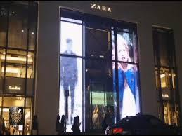 DIGITAL-WINDOWS at Zara