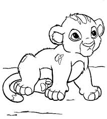 Small Picture Surprising Coloring Pages Draw A Lion For Kids Dazzling The King