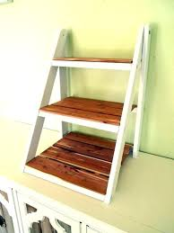 wood ladder shelf plans antique rustic bookshelf wooden furniture delightful design featuring mini for shelving with
