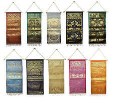 Wholesale Magazine Holders Indian Silk Wall Hanging Brocade Runner Key Magazine Letter Holder 54