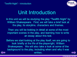 "key stage literature ""twelfth night"" ppt  4 ""twelfth"
