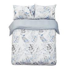 com word of dream 250tc 100 cotton fl print duvet cover set 3 pc leaves pattern king home kitchen