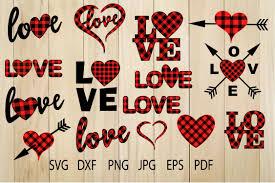 Weekly free svg cut file diy craft inspirations & videos 👇🏼✨click this link for more✨👇🏼 smart.bio/freesvgcaluyadesign. Buffalo Plaid Heart Svg Plaid Love Svg Valentine Heart 212191 Svgs Design Bundles