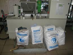 Отчёт о прохождении производственной практики на Водоканале doc Рис 7 флокулянты praestol и установка для их растворения в воде