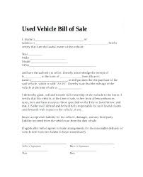 Vehicle Bill Of Sale Template Simple Animal Bill Of Sale Template Selling Car Receipt Template 44 Animal