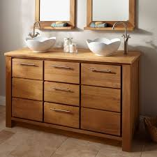 Rustic Bathroom Vanities And Sinks Rustic Bathroom Wall Cabinets Benchwright Double Sink Console