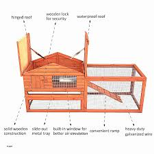 rabbit house plans. Outdoor Rabbit House Plans Beautiful Fresh 25 Free Hutch You Can
