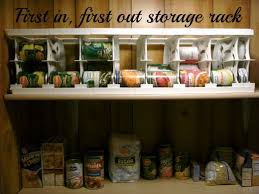 a fifo rack for canned food is ideal for any pantry