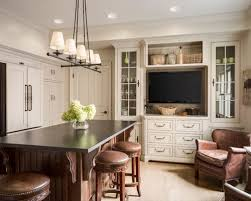 Traditional light wood floor kitchen idea in Kansas City with a farmhouse  sink, beaded inset